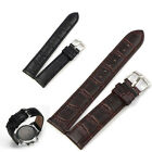 14~22mm Mens Ladies Genuine Leather Finest Band Soft Watch Strap Buckle