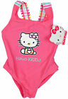 Girls Hello Kitty Rainbow Baby Swimming Costume Toddler Bathing Suit 3 - 24 Mths