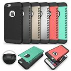 Apple iPhone 6 4.7 Dual Layer Shield Hybrid Armor Cover Slim Shockproof TPU Case