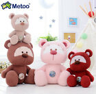 plush toy stuffed doll button ted bear teddy cute baby gift present animal 1pc