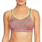 Shock Absorber Active Multi Ladies Sports Support Bra - Red