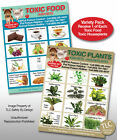 TOXIC PLANTS & FOODS Variety Pk. Poison for Pets Dogs Cats Safety Fridge Magnet