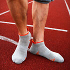 New Men Pure Cotton Slipping Sole Climbing Ankle Short Socks For Outdoor Sport