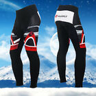 50% OFF SALE Men's Long Bicycle Pants Fleece Padded Cycling Biking Tights