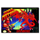 New Super Metroid Huge Fighting Game Art Silk Poster Wall Decor 13x20 20x30 inch