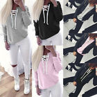 Fashion Womens Long Sleeve T Shirt Blouse Top Sweatshirt Clothes Pullover Tops