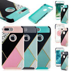 For iPhone 7 Plus/ 6S Heavy-duty Shockproof Protective Hybrid Hard Case Cover