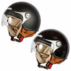New Spada Motorcycle Bike Scooter Moped Unisex Open Face Helmet Size XS-XL