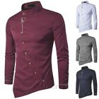 Handsome Men Stylish Casual Formal Slim Fit Shirt Long Sleeve Luxury Dress Shirt