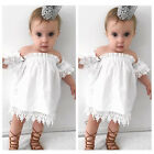 Toddler Kids Baby Girls Clothes Lace Top Dress Party Gown Formal Dress Sundress
