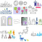 Metal DIY Cutting Dies Stencil DIY Scrapbooking Album Embossing Paper Card Craft