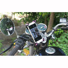 NEW Universal Motorcycle Phone Holder Stand Mount Bracket For Samsung Smartphone