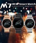 Bluetooth Heart Rate/Blood Pressure Monitor Alarm Activity Tracker Smart Watch