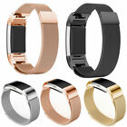 Replacement Milanese Stainless Steel Watch Strap Wristband For Fitbit Charge 2