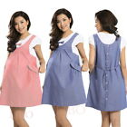 Summer Maternity Dress Bow Clothes For Pregnant Women Pregnancy Clothing Vogue