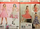 Simplicity 8127, (8-24) 8051 (10-28W)  Misses Dress  T. LaQuey  You  Pick   NEW