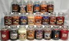Yankee Candle RETIRED AUTUMN WINTER HOLIDAY  MY FAVORITE THINGS 22oz JARS RARE