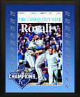 "KANSAS CITY ROYALS 2015 World Series Champions Star Front Page 8x10"" Plaque"