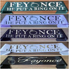Wedding/Bridal/Hen's Night/Engagement Party Sash Feyonce He Put A Ring On It