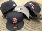 "New Era Boston RED SOX  ""State Clip"" On Field Cap Fitted Hat 5950 59fifty  MLB"