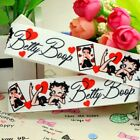 "BETTY BOOP 7/8"" 5/10/25 Yards grosgrain hair bow ribbon $4.99 USD"