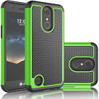 LG K20 Plus / K10 (2017) / V5 Shockproof Rugged Rubber Defender Hard Case Cover