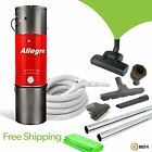 3000 sq ft Home Allegro Central Vacuum System Hardwood Deluxe Air Package