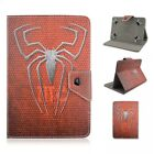 "Hot 7"" 8"" 10"" Universal tablet case batman Spider-Man superhero PU Leather cover"