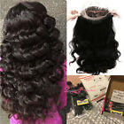 8A Body Wave Mongolian Virgin Hair 3 Bundles with 360 Lace Band Frontal Closure