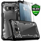 For Galaxy S8 S8 Plus Case Cover Drop Tested w Tempered Glass Heavy Duty