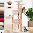 Cat Tree Kitten Scratching Post Activity Centre Climb Pet Toy Play Bed 160.6cm