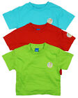 Boys Baby Toddler PACK OF 3 Bright Surf Dude Cotton T-Shirts Tops 3 to 24 Months