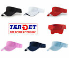 Target BREAK plain sun visor 35% Cotton - 65% Polyester ideal for many sports