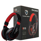 OVLENG X13 3.5mm Jack Stereo Headset Headphone with Mic For PC Laptop Cell Phone