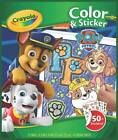 NEW Crayola Color & Sticker Book - Paw Patrol from Mr Toys