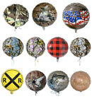 18 inch Round Mylar Balloons - 9 styles Timber Camo Apache Jet Welcome Home fnt