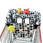 Shopping Cart Cover High Chair Cover For Baby 2 in 1 Crocnfrog Easy Safe NEW
