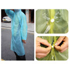 Raincoat Adult Reusable Poncho Waterproof Travel Hiking Climbing Camping Fishing