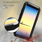 LOVE MEI Shockproof Aluminum Metal Case Armor Hard Cover For Samsung S8 Note 8