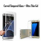 100% GENUINE TEMPERED GLASS SCREEN PROTECTOR AND GEL CASE SAMSUNG GALAXY S8 PLUS