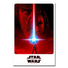 Star Wars Episode VIII The Last Jedi Movie Silk Poster Carrie Reynolds Fisher $9.74 USD
