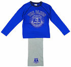 Boys Official EVERTON FC 1878 The Blues Pyjamas 4-6 Years SALE