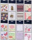 Pack of 8 Small Thank You Note Cards & Envelopes - Various Designs Simon Elvin