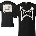 Tapout Mens Kick Me T-shirt UFC MMA Cage Fighter Tee New