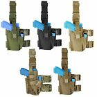 Condor TLH Tactical Drop Leg Pistol Anti-Slip Hunting Holster & Magazine Pouch
