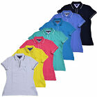 Tommy Hilfiger Womens Polo Shirt Buttonless Top Open Neck Knit Emma Classic Fit