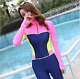 NEW WOMEN LADY FULL BODY DIVING SUIT JUMP SURF SNORKELING QUICK-DRY WETSUITS