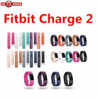 UK Fitbit Charge 2 Replacement Band Secure Strap *UK* Wristband Metal Buckle