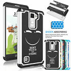 Armor Shockproof Rugged Impact Phone Case Cover For LG G Stylo 2/Stylus 2 & Plus