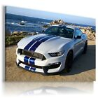 FORD MUSTANG Super Sport Car Large Wall Art Canvas Picture   A212
